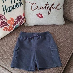 4/$20! Jumping Beans denim blue knit cargo shorts